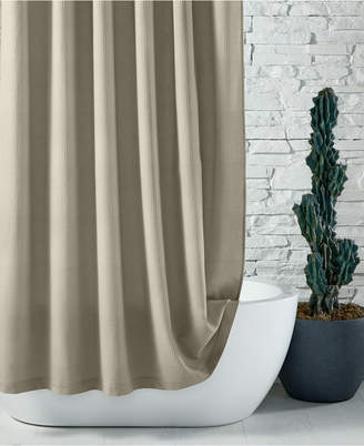 """Hotel Collection Closeout! Waffle 72"""" x 72"""" Shower Curtain Bedding"""
