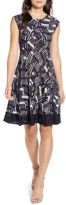 Nic+Zoe Melody Fit & Flare Dress