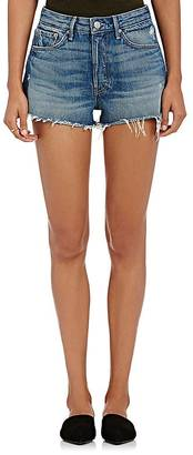 GRLFRND Women's Cindy Cutoff Shorts $148 thestylecure.com