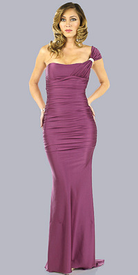 One Shoulder Prom Gowns by Atria