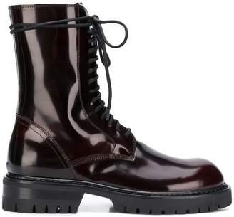 Ann Demeulemeester Abrasivato boots
