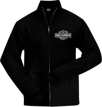 Harley-Davidson Trade Marked No Hood Zip Sweatjacket - Overseas Tour XL