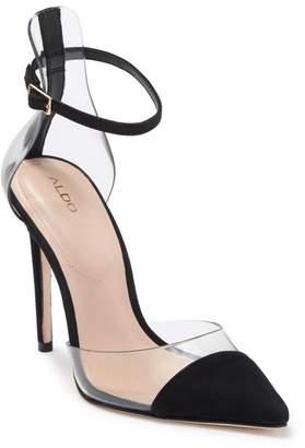 Aldo Unglesbee Ankle Strap Pointed Toe Sandal