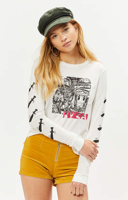 RVCA Grillo Bone Long Sleeve T-Shirt
