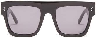 Stella McCartney Flat-top D-frame sunglasses