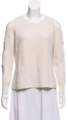 Zoë Jordan Cutout Wool Sweater