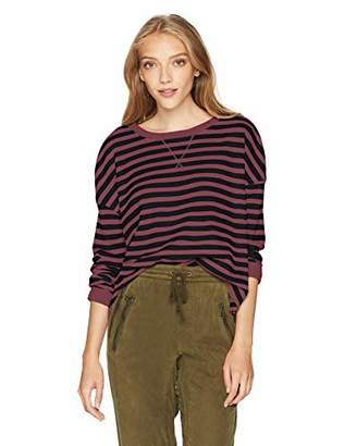 Fox Junior's Striped Out Long Sleeve Crop Thermal