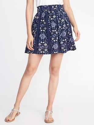 Old Navy Smocked-Waist Circle Skirt for Women