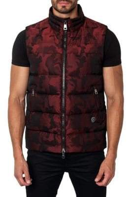 Jared Lang Aspen Camouflage Down Puffer Vest