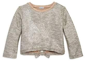 Splendid Girls' Metallic Knit Top - Big Kid