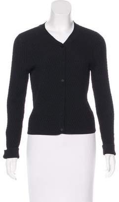 Jonathan Simkhai Textured Button-Up Cardigan