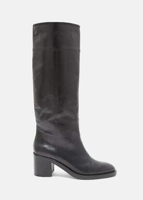Maison Margiela Brushed Effect Replica Tall Boots Black