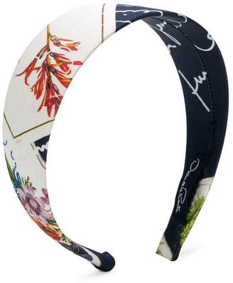 Oscar de la Renta Kids printed head band