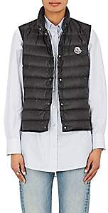 Moncler Women's Lliane Down Tech-Taffeta Vest - Black