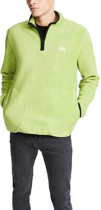 Stussy Polar Fleece Half Zip Pullover