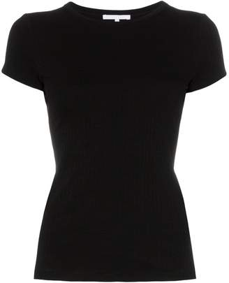 Helmut Lang ribbed cotton T-shirt