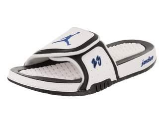 c3c1bcb64e9988 Jordan Nike Men s Hydro X Retro White Royal Black Sandal 11 Men US