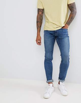 Hollister Superskinny Stretch Jeans in Mid Wash