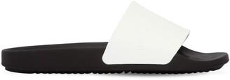 Rick Owens Logo Rubber Slide Sandals