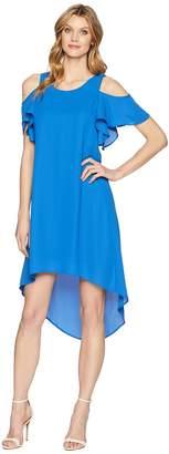 Karen Kane Cold Shoulder High-Low Dress Women's Dress