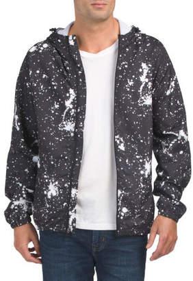 Paint Splatter Printed Jacket