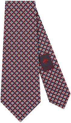 Gucci 3-D G silk tie