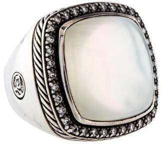 David Yurman Quartz Doublet & Diamond Albion Ring