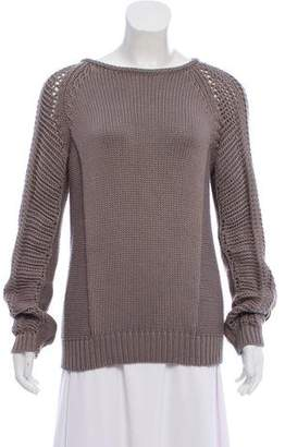 Helmut Lang Crew Neck Knit Sweater