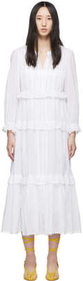 Etoile Isabel Marant White Aboni Dress