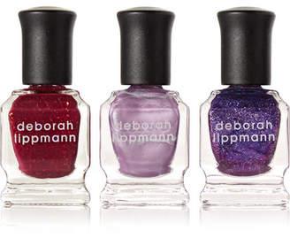Deborah Lippmann - Purple Rain Nail Polish Set - one size $24 thestylecure.com