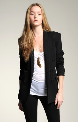 Ponte Double Breasted Blazer
