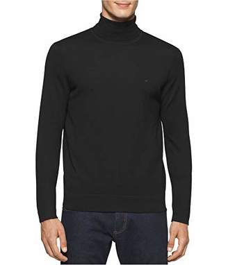 Calvin Klein Men's Merino Turtleneck Sweater