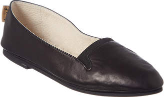 French Sole Urge Leather Flat