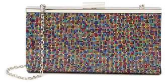 Jessica McClintock Laura Multi-Colored Bead Clutch
