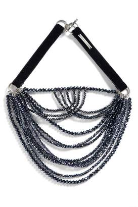 Fabiana Filippi Multistrand Glass Bead Necklace