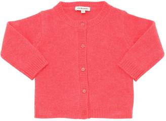 Caramel Baby And Child Cashmere Knit Cardigan