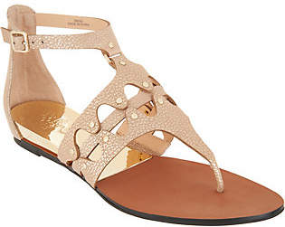 Vince Camuto Leather Thong Flat Sandals- Arlanian