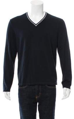 Michael Kors Woven V-Neck Sweater w/ Tags