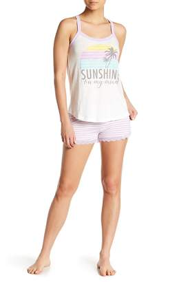 PJ Salvage Sunshine On My Mind PJ Shorts