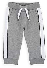 Givenchy Kids' Logo-Taped Cotton-Blend Sweatpants - Gray