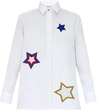 My Pair of Jeans - Stars Embroidered Shirt