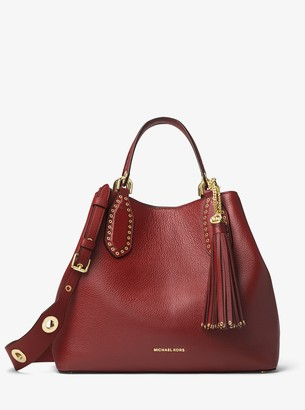 MICHAEL Michael Kors Brooklyn Large Leather Satchel