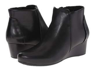 Rockport Total Motion 45mm Wedge Bootie Women's Zip Boots