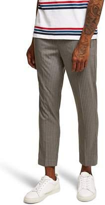 Topman Pinstripe Jogger Pants