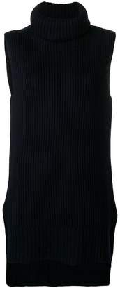 Joseph high neck knit vest