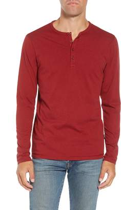 Patagonia 'Daily' Long Sleeve Organic Cotton Henley