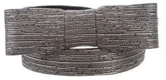 See by Chloe Metallic Waist Belt