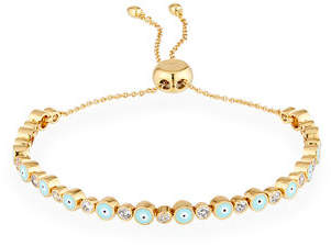 Tai Evil Eye & Crystal Adjustable Bracelet