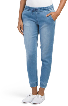 Juniors French Terry Denim Joggers $19.99 thestylecure.com