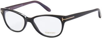 Tom Ford TF 5292 Black Oval Optical Frames